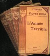 L'ANNEE TERRIBLE - N° 37 à 39 + 42 - Couverture - Format classique