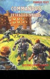 Commandos Extraordinaires. - Couverture - Format classique