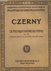 Le Premier Maitre Du Piano - Op.599. - Couverture - Format classique