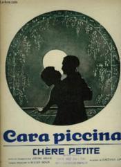 Cara Piccina ! - Piano Et Chant - Numero Du Catalogie 1588. - Couverture - Format classique