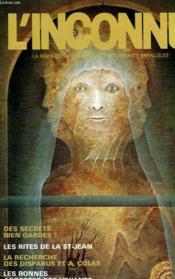 L'Inconnu - N°40 - Couverture - Format classique