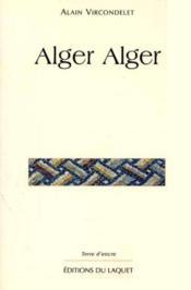 Alger Alger - Couverture - Format classique