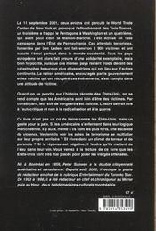 Le Livre Noir Des Etats-Unis - 4ème de couverture - Format classique