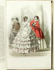 Le Messager des Dames et des Demoiselles. Tome Premier. Partie Magazine [ 1854-1855 ] - Couverture - Format classique