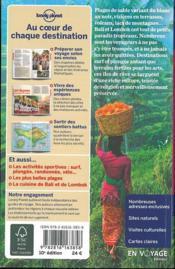 Bali et Lombok (10e édition) - 4ème de couverture - Format classique