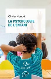 La psychologie de l'enfant - Couverture - Format classique