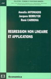 Regression non lineaire - Couverture - Format classique
