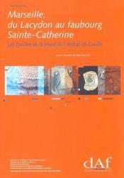 Les Fouilles De La Place Du General De Gaulle ; Edition 2001 - Intérieur - Format classique