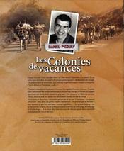 Les colonies de vacances - 4ème de couverture - Format classique