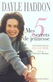 Mes 5 secrets de jeunesse - Intérieur - Format classique