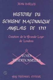 Histoire du shisme maçonnique anglais - Couverture - Format classique