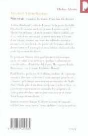 Smara ; carnets de route d'un fou du désert - 4ème de couverture - Format classique