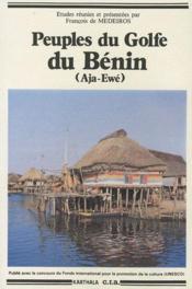 Peuples du Golfe du Bénin (Aja-Ewé) - Couverture - Format classique
