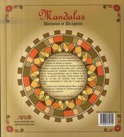 Mandalas ; donjons et dragons - 4ème de couverture - Format classique