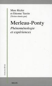 Merleau-Ponty, phénomenologie et expériences - Intérieur - Format classique