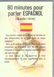 80 Minutes Pour Parler Espagnol - Intérieur - Format classique