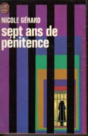 Sept ans de pénitence - Couverture - Format classique