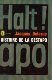 Histoire de la gestapo - Couverture - Format classique
