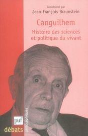 Canguilhem, histoire des sciences et politique du vivant - Intérieur - Format classique