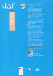 Les habitats carolingiens de Montours et la Chapelle-Saint-Aubert (Ille-et-Vilaine) - 4ème de couverture - Format classique