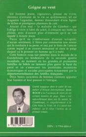 Grigne Au Vent - 4ème de couverture - Format classique