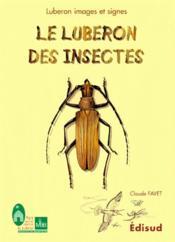 Le Luberon des insectes - Couverture - Format classique
