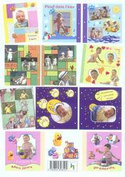 Scrapbooking, l'album de bebe - 4ème de couverture - Format classique