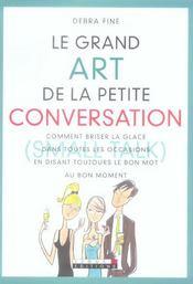 Le grand art de la petite conversation - Intérieur - Format classique