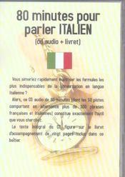 80 Minutes Pour Parler Italien - Intérieur - Format classique
