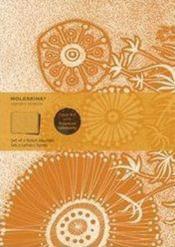 Cahier ligne artistique ; fleur - Couverture - Format classique
