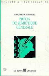 Precis De Semiotique Generale - Couverture - Format classique