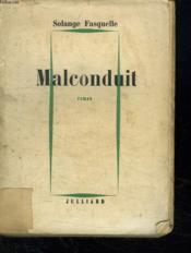 Malconduit. - Couverture - Format classique