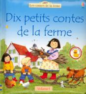 Dix etits contes de la ferme t.1 - Couverture - Format classique