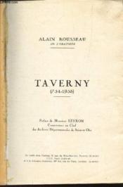 Taverny (754-1958) - Couverture - Format classique