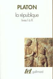 La republique - livres i a x - Couverture - Format classique