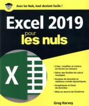Excel pour les nuls (édition 2019) - Couverture - Format classique
