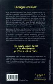 Signé Sixtine T.3 ; le festival de l'apocalypse - 4ème de couverture - Format classique