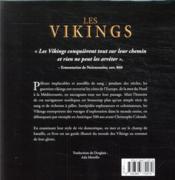 Les vikings - 4ème de couverture - Format classique