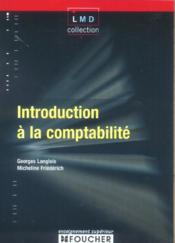 Introduction A La Comptabilite - Couverture - Format classique