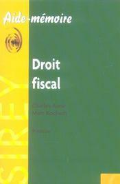 Droit fiscal (9e edition) - Intérieur - Format classique