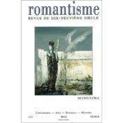 Revue Romantisme N 115 1/2002 - Couverture - Format classique