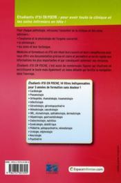 Infectiologie - 4ème de couverture - Format classique
