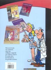 Les Femmes En Blanc Pirate T.20 ; Je Panse Donc Je Suis - 4ème de couverture - Format classique