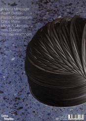 Cahiers du musée national d'art moderne t.100 - 4ème de couverture - Format classique
