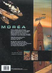 Moréa t.1 ; le sang des anges - 4ème de couverture - Format classique