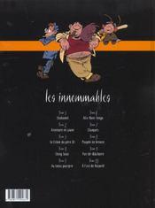 Les innommables t.4 ; Ching Soao - 4ème de couverture - Format classique