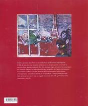 Paris des peintres - 4ème de couverture - Format classique