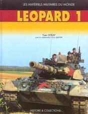 Le char léopard t.1 - Intérieur - Format classique