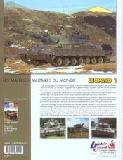 Le char léopard t.1 - 4ème de couverture - Format classique