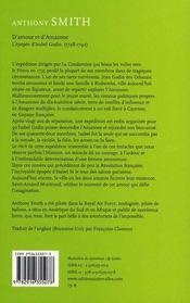 D'Amour Et D'Amazone - 4ème de couverture - Format classique